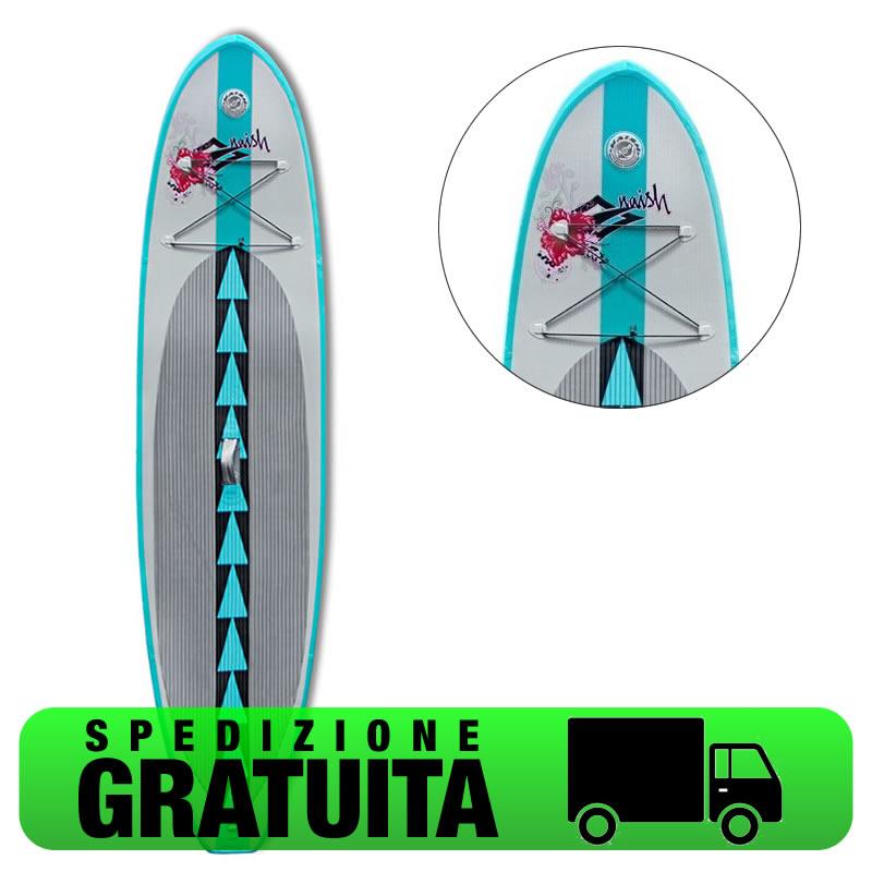 Naish ALANA AIR 10,6 stand up paddle gonfiabile