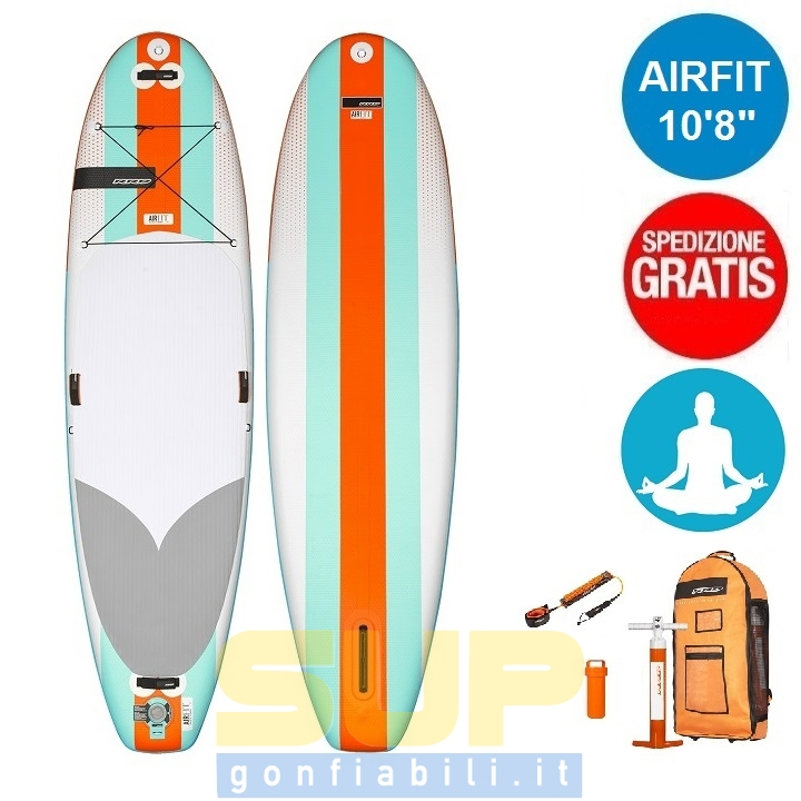 "RRD AIRFIT V1 10'8""x35""x6"" gonfiabile stand up paddle"