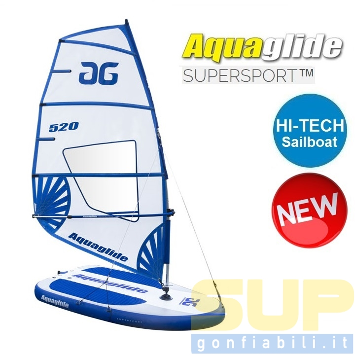 Aquaglide Supersport Hi-tech Sailboat
