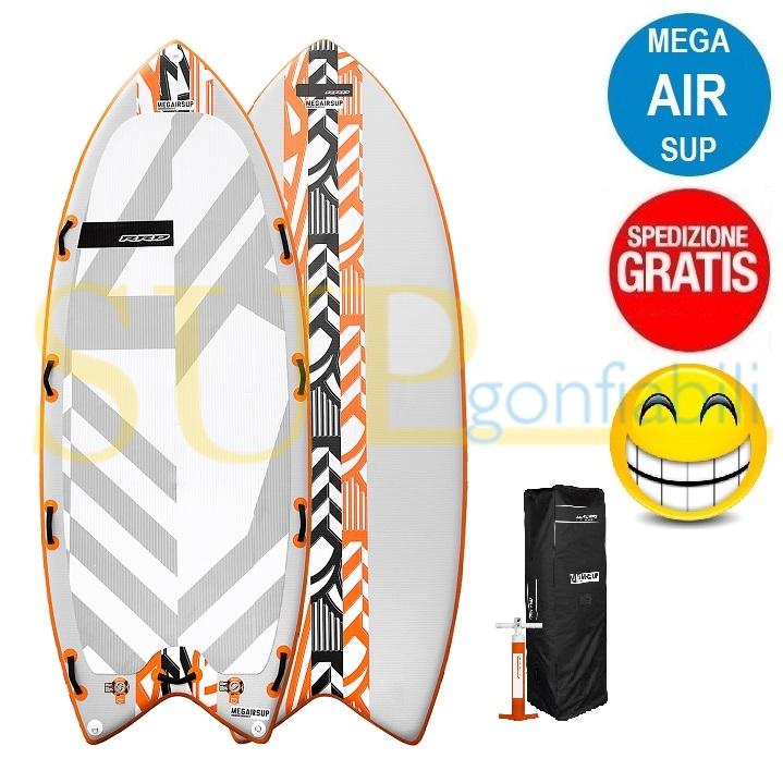 "RRD MEGAIRSUP V2 16'5"" gonfiabile stand up paddle"