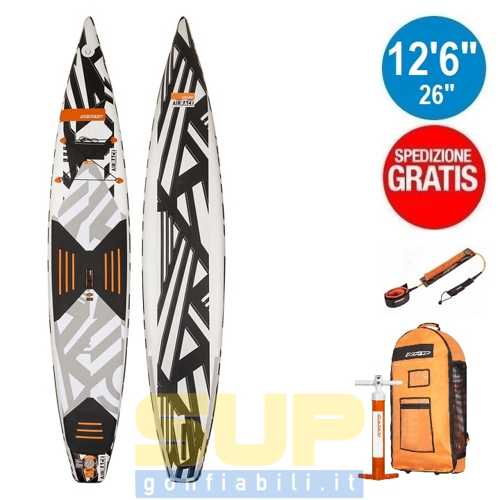 """RRD AIRACE V4 gonfiabile 12'6""""x26""""x6"""" stand up paddle"""