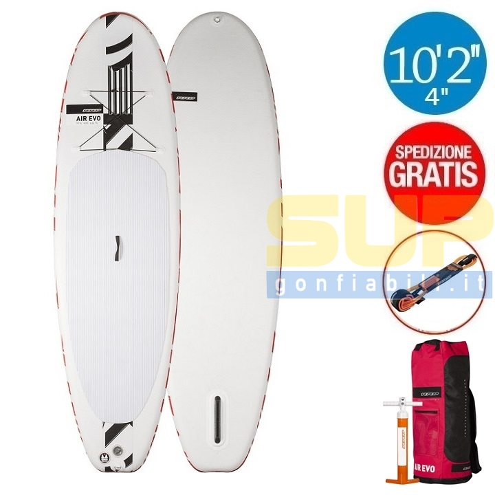 "RRD AIREVO 10'2""x33""x4 3/4"" gonfiabile stand up paddle"