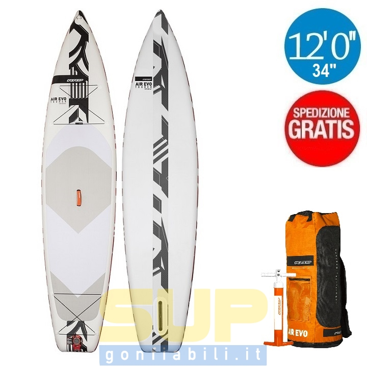 """RRD AIREVO TOURER 12'0""""x34"""" gonfiabile stand up paddle"""