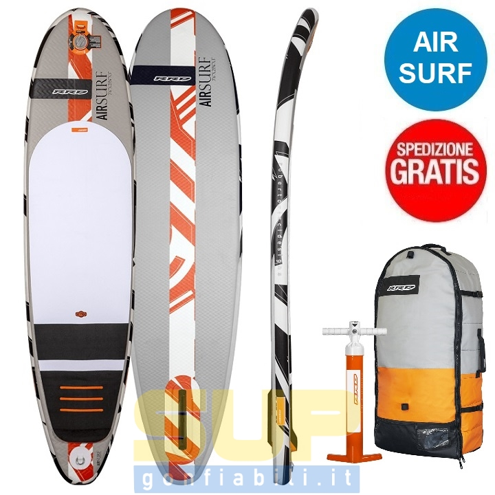 RRD AIR SURF inflatable surfboard