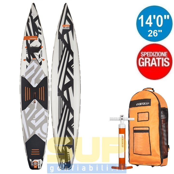 """RRD AIRACE V2 gonfiabile 14'0""""x26""""x6"""" stand up paddle"""