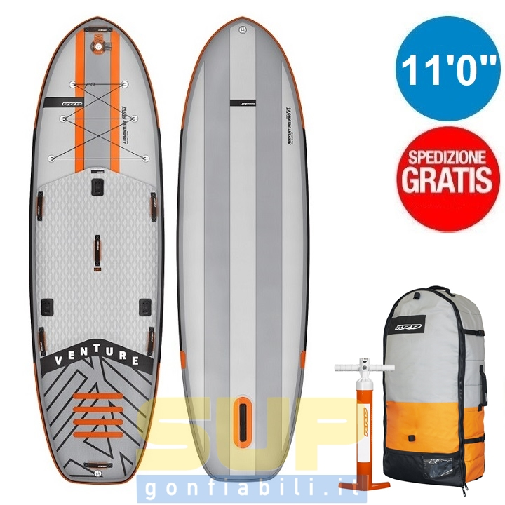 """RRD AIRVENTURE PRO 11'0""""x38"""" gonfiabile stand up paddle"""