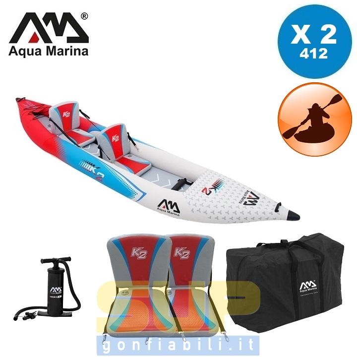 AQUA MARINA STEAM BETTA VT-K2 TWO 412x83