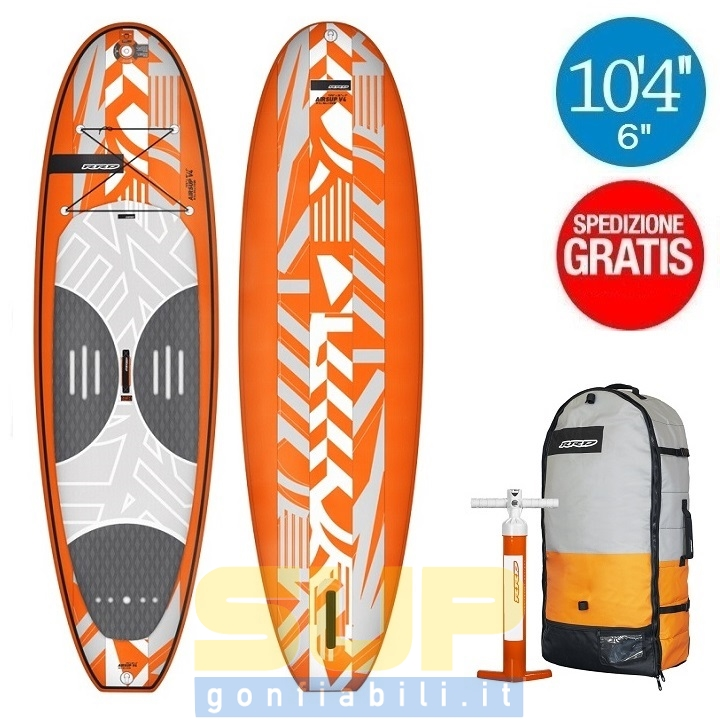 "RRD AIRSUP V4 10'4""X6"" gonfiabile stand up paddle"