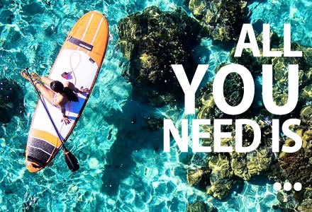 Stand Up Paddle inflatable