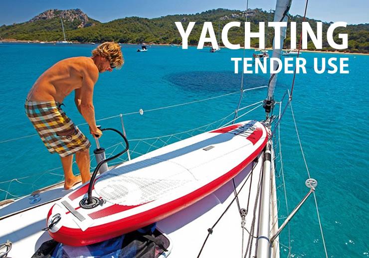 SUP like a boat tender