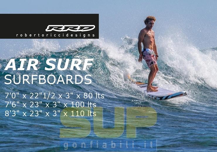 RRD AIR SURF inflatable surfboard