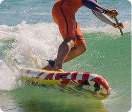 Tavola surf gonfiabile