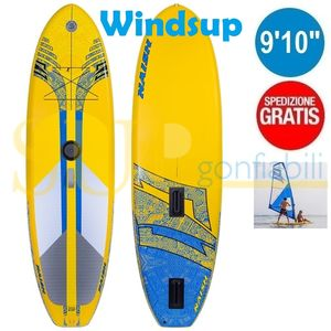 "NAISH CROSSOVER WINDSUP 9'10""x34""x6"" gonfiabile stand up paddle convertibile"