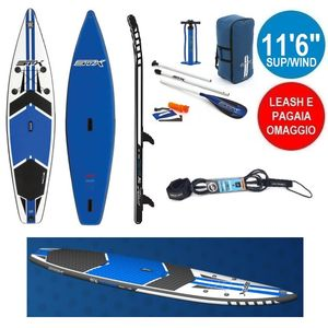 "STX SUP/WIND 11'6""x32""x6"" gonfiabile stand up paddle"