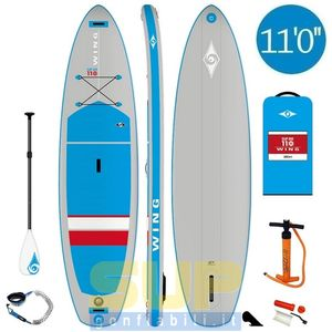 BicSport WING air sup gonfiabile 11'0 stand up paddle
