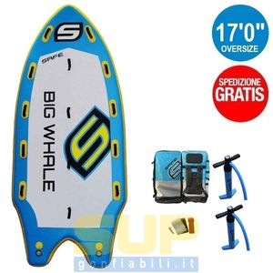 "SAFE EASY RIDE 10'6""x32""x6""x265 lts - supgonfiabili"