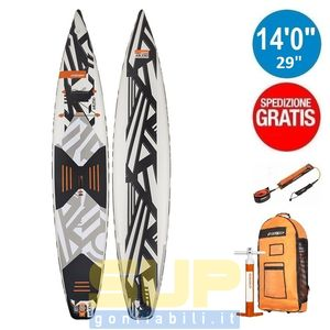 "RRD AIRACE V4 gonfiabile 14'0""x29""x6"" stand up paddle"