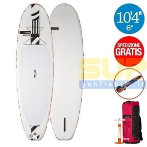 "RRD AIREVO 10'4""x34""x6"" gonfiabile stand up paddle"