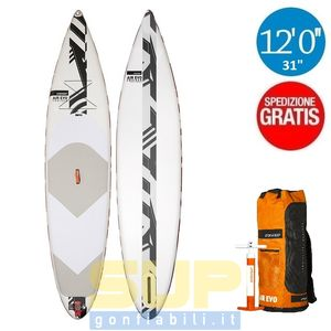 "RRD AIREVO TOURER 12'0""x32"" gonfiabile stand up paddle"