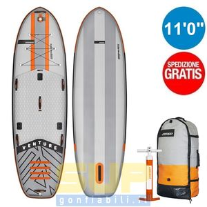 "RRD AIRVENTURE PRO 11'0""x38"" gonfiabile stand up paddle"