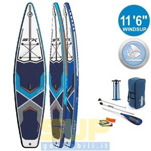 STX WINDSUP 11'6 inflatable windsurf SUPgonfiabili