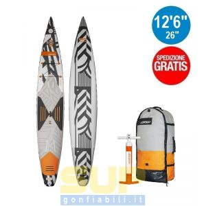 """RRD AIRACE V5 gonfiabile 12'6""""x26""""x6"""" stand up paddle"""